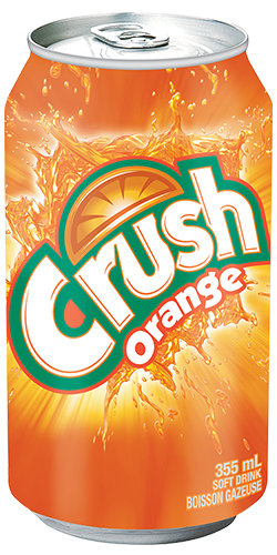Crush Orange Soft Drink