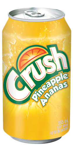 Crush Pineapple Soft Drink