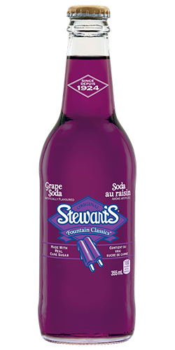 Soda Au Raisin Stewart's