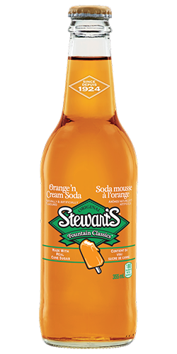 Stewart's Orange 'n Cream Soda